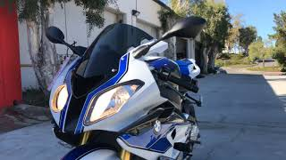Onyx Moto / 2014 BMW S1000RR HP4 / Full Akrapovic Exhaust Sound Clip