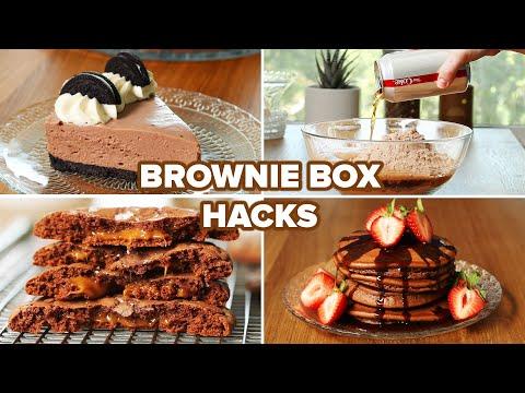 I Tried Different Brownie Box Hacks • Tasty
