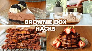I Tried Different Brownie Box Hacks  Tasty