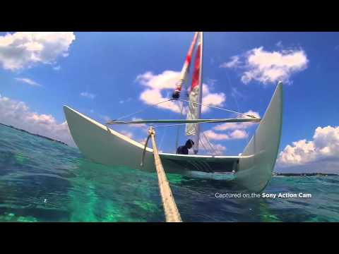 Action Cam in Maldives with Kitkat Arabia and Virgin Radio DXB