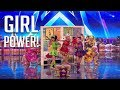 Cartoon Heroes: They Are Young Girls But SUPER Talented! | Britain's Got Talent 2018