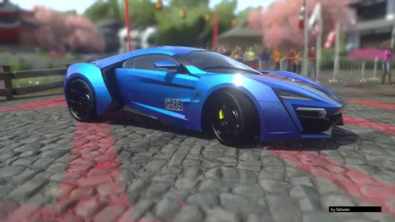 Fast And Furious 7 W Motors >> LYKAN HYPERSPORT W MOTORS / DRIVE CLUB / FAST AND FURIOUS 7 - YouTube