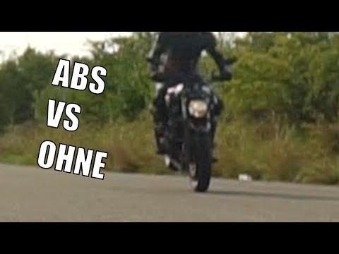 Bremsung Aus 120 Kmh ABS Vs OHNE