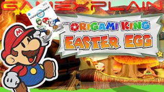 A Secret Mario Kart Wii Track is Hiding in Paper Mario: The Origami King (Easter Egg)