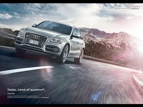 Bellissimo Spot Audi Italia Land Of Quattro