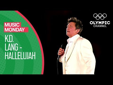 k.d. lang performs Hallelujah - Vancouver 2010 Olympics Opening Ceremony | Music Monday