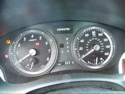 How To Reset Check Engine Light >> Maintenance Required Reset for 2007 Lexus ES350 - YouTube