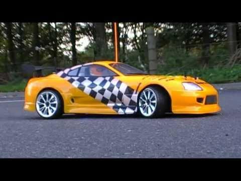 Rc Toyota Supra Drifting In Denmark Youtube