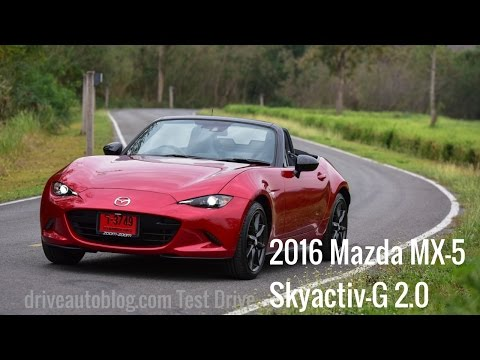 "[Test Drive] 2016 Mazda MX-5 : The King of Roadster...""ซิ่ง แรง สนุก"" [HD]"