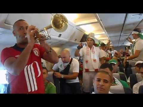 Les Suporteurs algeriens a bourkina faso ♥