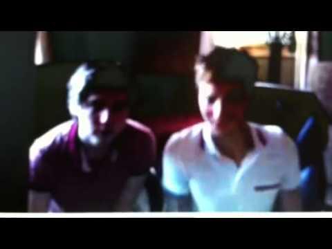 Jamie and Ryan Follesé thanksgiving live stream 2012