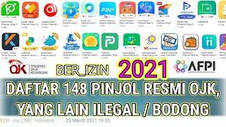Daftar Pinjol Resmi Ojk 2021 Pinjaman Online Langsung Cair Bukan Kaleng Kaleng Youtube