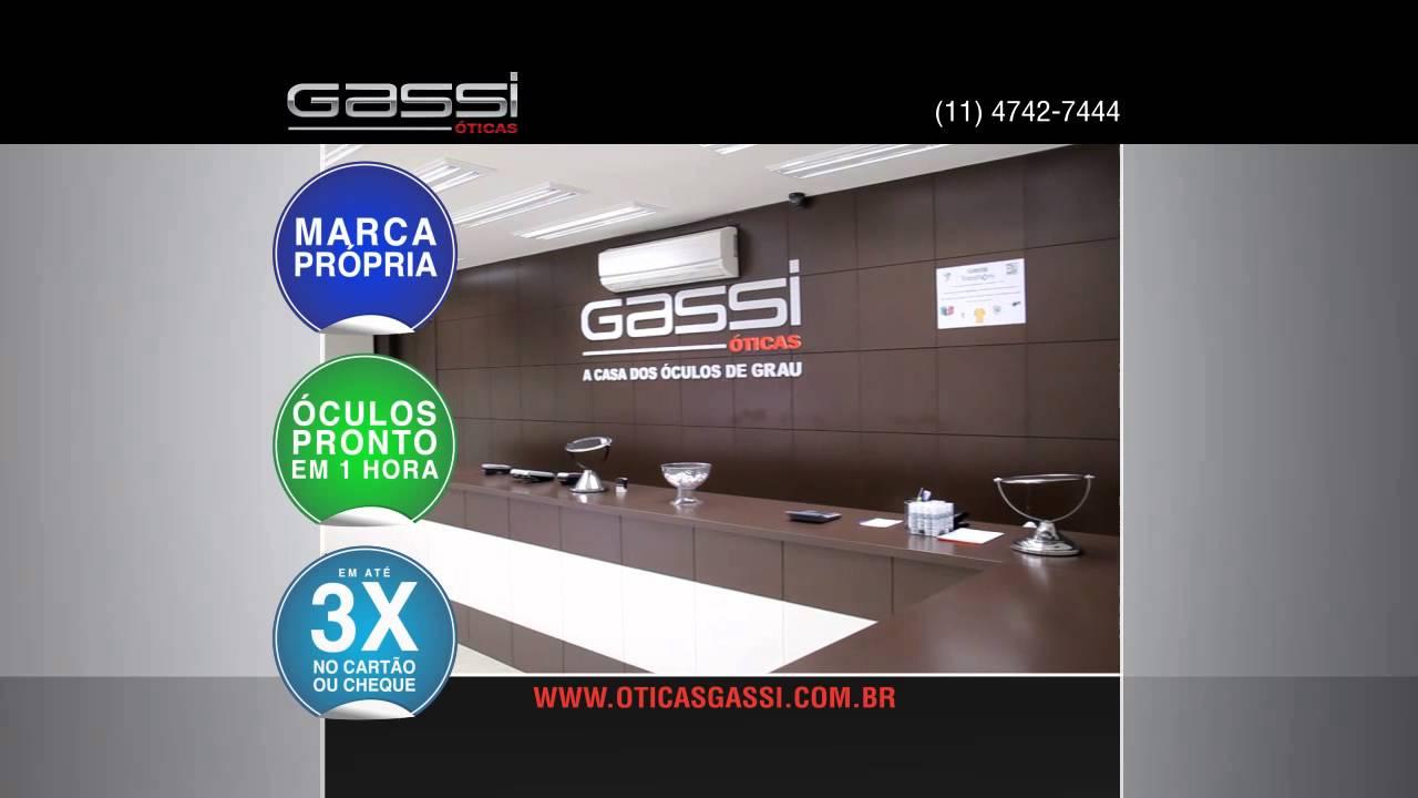 d35d5e60f2c20 Comercial das Óticas Gassi - Julho 2013 - YouTube
