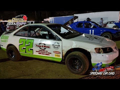 #22 Chad Murray - Buzz - 3-23-19 North Alabama Speedway - In Car Camera