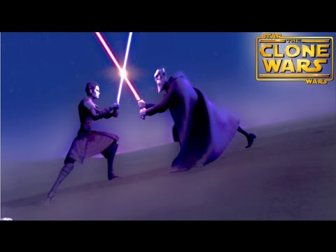 3 most INTENSE Lightsaber duels seen in SWTCW - YouTube