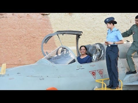 First Woman Defense Minister visits India's first underground airbase