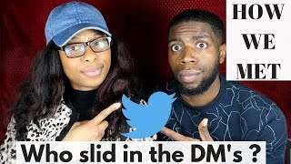 STORY TIME: HOW WE MET & WHO SLID IN THE DM's? || Yinka & Crystal