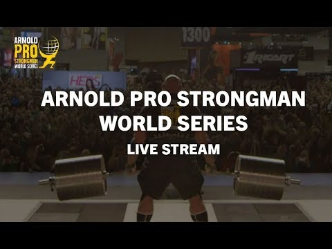Watch Live: Part two of the 2019 Arnold Pro Strongman USA Qualifier