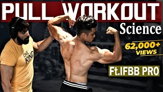 Pull Workout Science Ft. IFBB Pro Junaid Kaliwala | Back, Biceps, Traps, Rear Delts