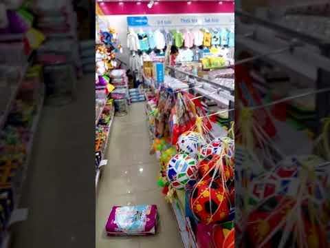 CONCUNG. Ассортимент магазина детских товаров.