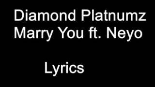 Diamond Platnumz   Marry You Ft Neyo Lyrics