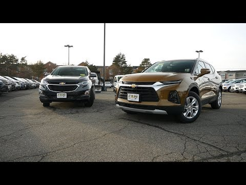 2019 Chevy Blazer vs 2019 Chevy Equinox - What's The Difference?