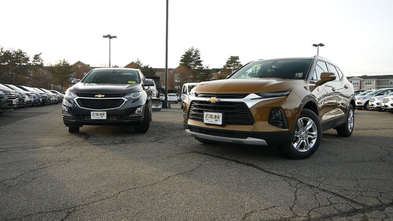 2019 Chevy Blazer vs 2019 Chevy Equinox - What's The ...