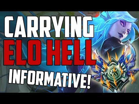 Katlife  HOW TO CARRY ELO HELL WITH KATARINA  STEPBYSTEP COMMENTARY