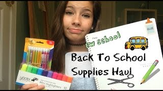 Back to School Supplies Haul Thumbnail
