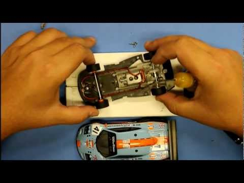 ASCC - Slot.it slot car setup : Part #7 - Lubrication, body install & CG effects