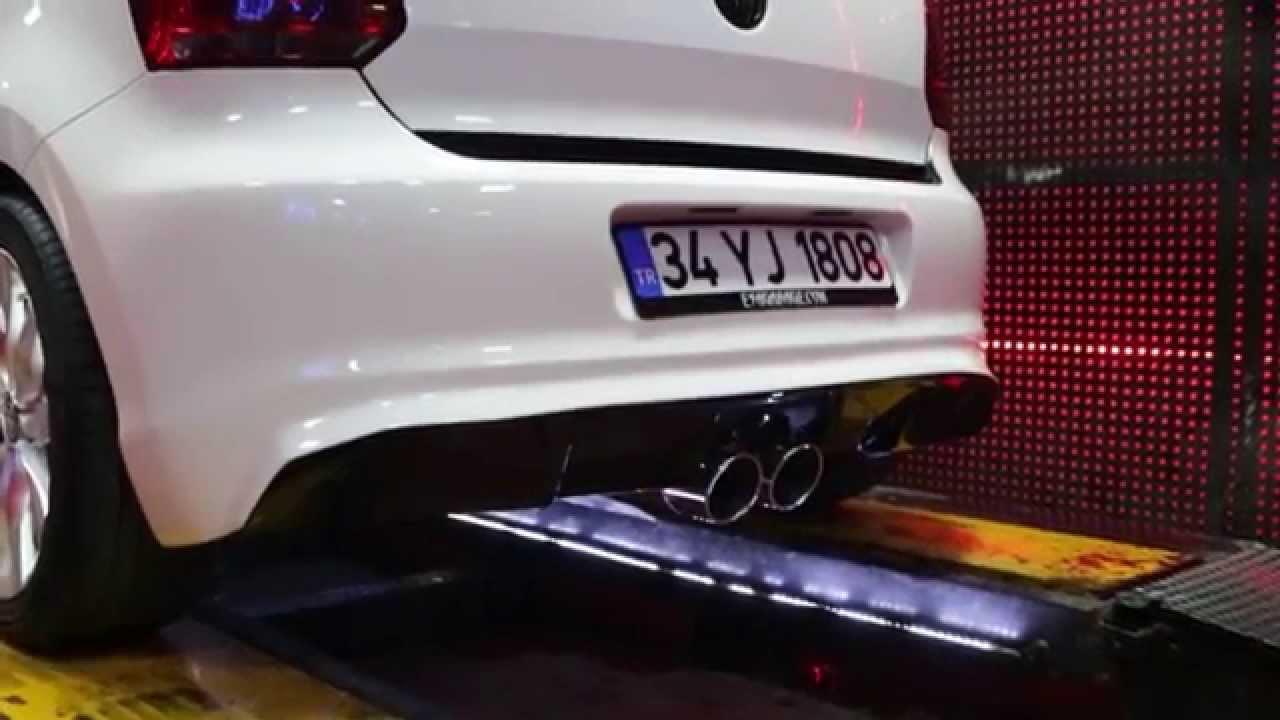 volkswagen polo mk5 6r 1.6 tdi, dizel egzoz sesi ve araç dizaynı