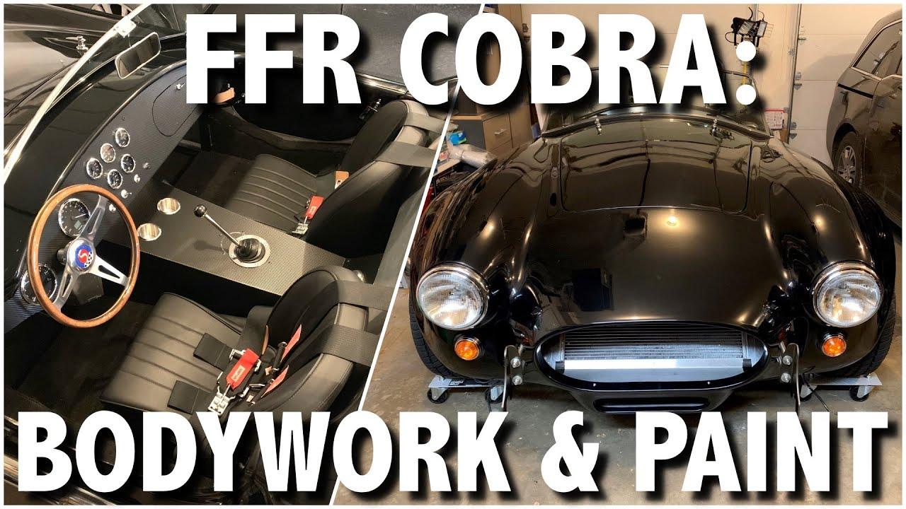 Factory Five Cobra Part 2: DIY Paint Job in 4 minutes