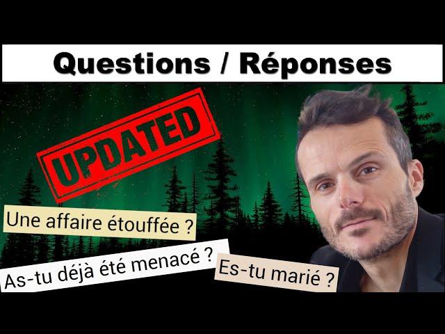 MISE À JOUR AFFAIRES DISPARITION - QUESTIONS / RÉPONSES