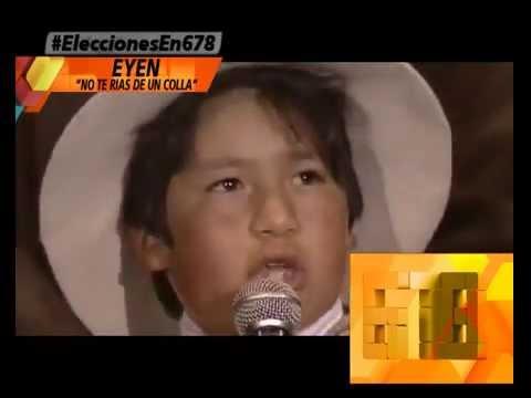 f94fba8639f7 EL NIÑO COLLA Y EL POEMA QUE EMOCIONO A CRISTINA - 15-07-13 - YouTube