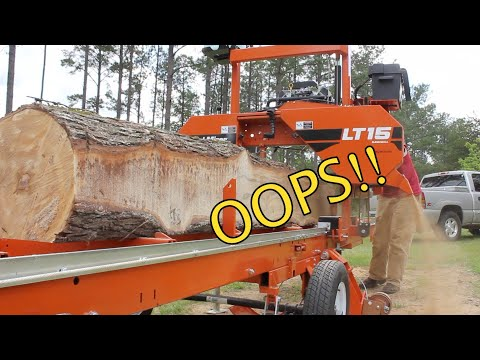 I Made a HUGE Rookie Mistake Milling this Sweet Gum Log!
