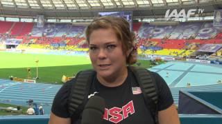 Moscow 2013 - Amanda BINGSON USA - Hammer Throw Women - Qual B