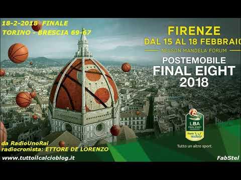 Il basket alla radio: Finale Coppa Italia 2018, Torino-Brescia 69-67