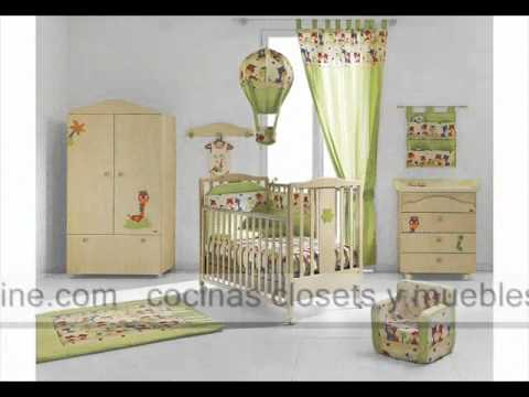 Decoraci n de habitaciones infantiles cuartos para bebe - Decoracion para cuartos ...