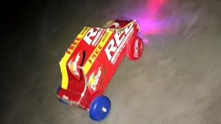 Make a car at home - With toothpaste box
