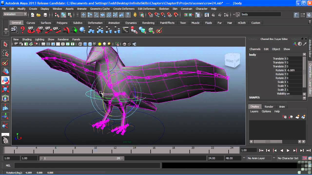 Infinite Skills - Learning Maya - Use It With Pleasure. Buy Now to Try. dvsmbu.me
