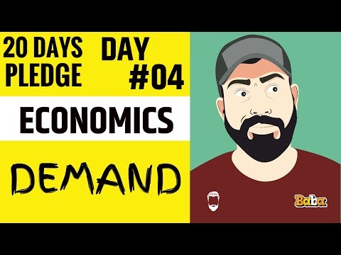 DAY 04 I Economics I Chapter-03 DEMAND I 20 Dayspledge