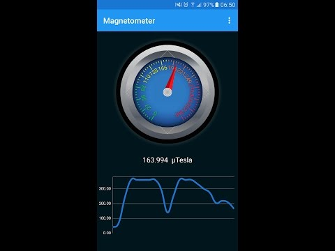 Magnetometer Metal Detector for Android
