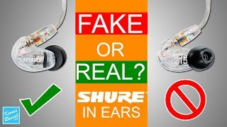 How to Spot Fake Shure In Ears