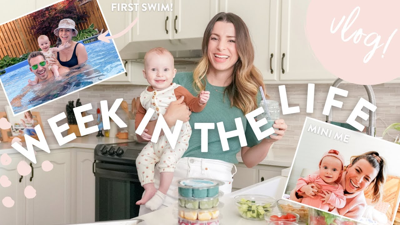 WEEK IN THE LIFE | What I Eat, Balancing Work as a New Mom & Opening Up