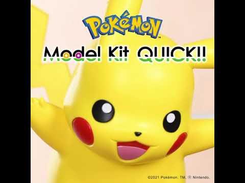 Pokemon -  Pikachu Model Kit - Video