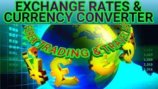 Exchange Rates & Currency Converter Forex Trading Travel App screenshot 1