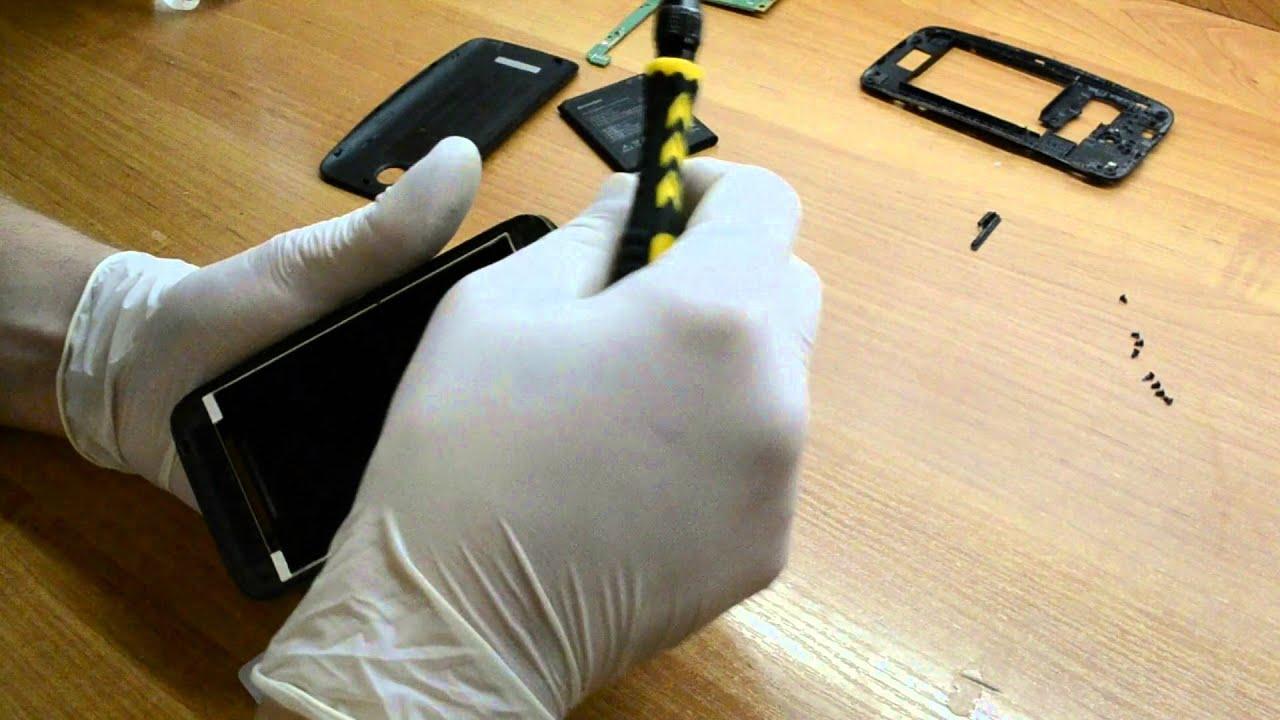 инструкция по замене тачскрина с фото глянца диктует свои