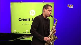 VICTOR PELLICER – 1st ROUND – III ANDORRA INTERNATIONAL SAXOPHONE COMPETITION 2016