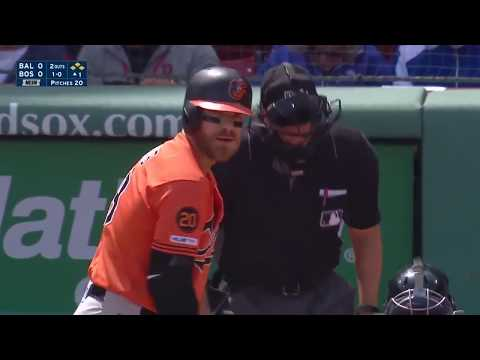 Chris Davis Snaps 0-54 Record and Goes 3-5