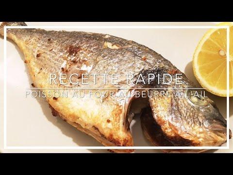 recette-facile---poisson-au-four-au-beurre-et-à-l'ail---heylittlejean
